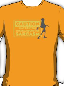 Human Kuzco - May Contain Trace Amounts of Sarcasm T-Shirt