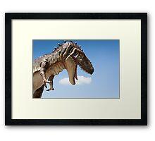 Tyrannosaurus Rex dino Framed Print