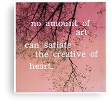The Creative of Art Canvas Print