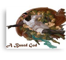 Lil B Based God Canvas Print