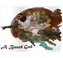 Lil B Based God Poster