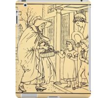 Walter Crane's Painting Book 1889 29 - Hot Cross Buns Lines iPad Case/Skin
