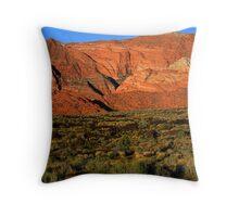 Snow Canyon-St. George Utah Throw Pillow