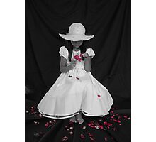 Colorization with Petals Photographic Print