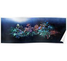 Aquatic Structure Poster