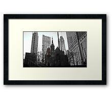 Gothic Chicago Framed Print