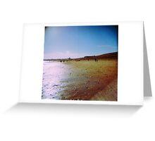 Retro Whitley Bay  Greeting Card