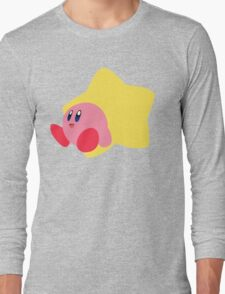 Kirby - Super Smash Bros  Long Sleeve T-Shirt