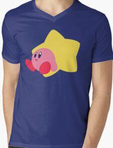 Kirby - Super Smash Bros  Mens V-Neck T-Shirt