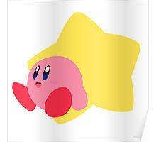 Kirby - Super Smash Bros  Poster
