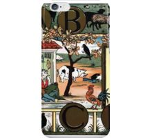 The Song Of Sixpence Pocket Book 1909 Walter Crane 67 - A B C D Alphabet iPhone Case/Skin
