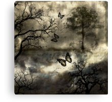 Ephemeral Partings Canvas Print