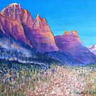 Red Cliffs by sally seabright