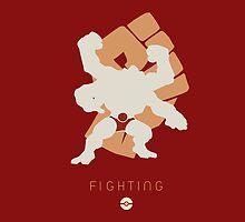 Pokemon Type - Fighting by spyrome876
