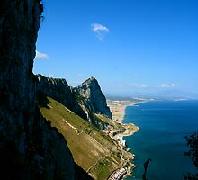 The Rock of Gibraltar by hwoomarn