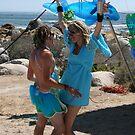 Dancing in ocean hues by kimwild