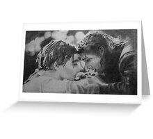 Promise me you won't let go Greeting Card