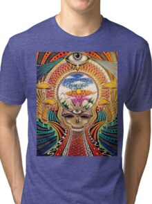 Psychedelic Grateful Dead Tri-blend T-Shirt