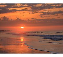 Sunset on Emerald Isle, North Carolina Photographic Print