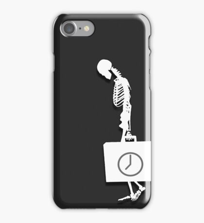For what time remains.. iPhone Case/Skin