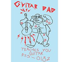 Steven Universe - Guitar Dad Photographic Print