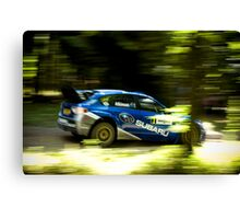 Subaru Rally Canvas Print