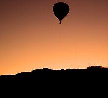 Dawn Patrol over Albuquerque by Greg Meland