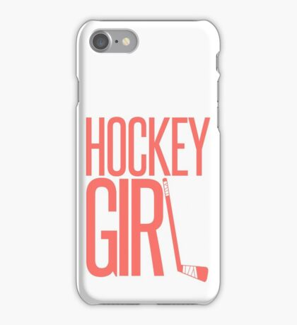 Hockey Girl iPhone Case/Skin