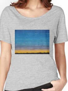 Western Stars original painting Women's Relaxed Fit T-Shirt