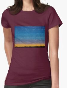 Western Stars original painting Womens Fitted T-Shirt