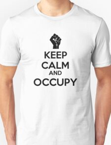 Keep Calm and Occupy T-Shirt