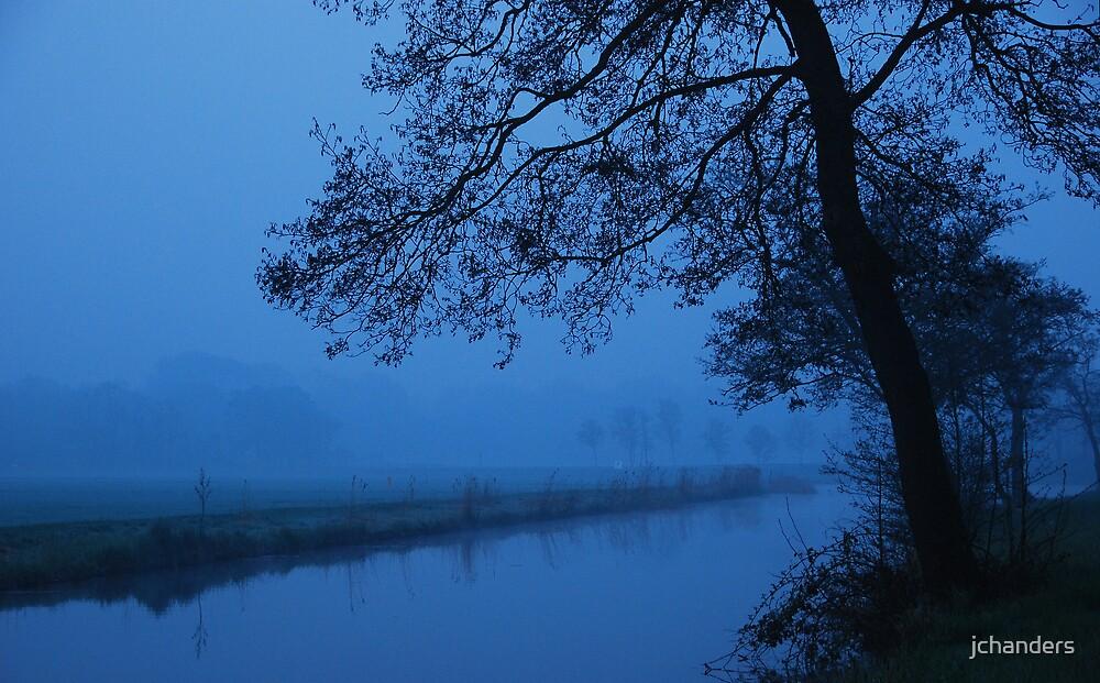 Blue morning in waterland by jchanders