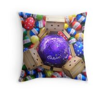 danbo ♥ chocolate Throw Pillow