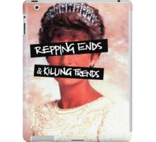 Repping ends and killing trends iPad Case/Skin