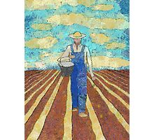 THE FARMER SOWING HIS CORN Photographic Print