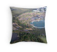 homebush quarry Throw Pillow