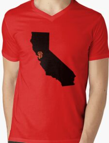 San Francisco Giants - California Mens V-Neck T-Shirt