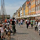 A Sunny Day in Nyhavn by imagic