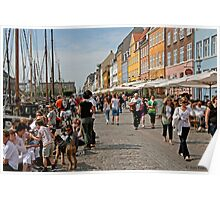 A Sunny Day in Nyhavn Poster