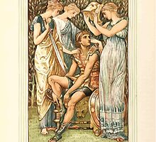 A Wonder Book for Girls and Boys by Nathaniel Hawthorne illustrated by Walter Crane 49 - Perseus Armed by the Nymphs by wetdryvac