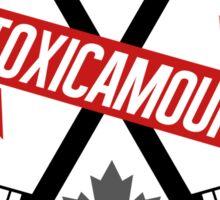 ToxicAmour Hockey Sticker