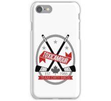 ToxicAmour Hockey iPhone Case/Skin