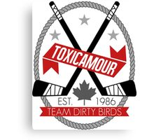 ToxicAmour Hockey Canvas Print