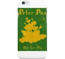 Peter Pan Minimalist Poster iPhone Case/Skin
