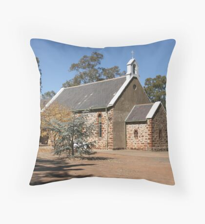 """Holy Trinity Anglican Church"" Throw Pillow"