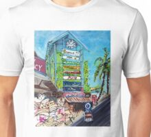 Airlie Beach Clock Tower Unisex T-Shirt