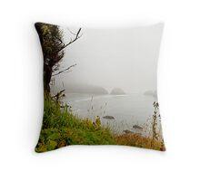 Oregon Coast Lookout Throw Pillow