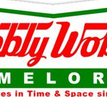 Wibbly Wobbly Timelords Sticker
