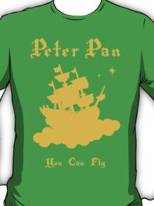 Peter Pan Minimalist Design T-Shirt