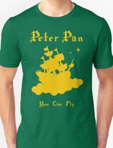 Peter Pan Minimalist Design Unisex T-Shirt